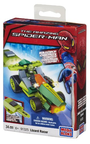 Mega Bloks Lizard Man Pocket Racer