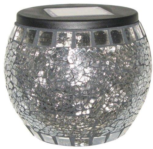 Mark Feldstein Solar Mosaic Jar Globe Crystal