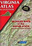 Virginia: Atlas and Gazetteer (Virginia Atlas & Gazeteer) (0899332714) by DeLorme
