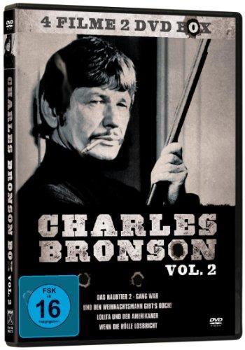 Charles Bronson 4er-Box Vol. 2 *4 Filme auf 2 DVDs!*