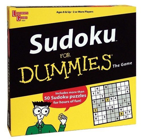 Cheap University Games Sudoku for Dummies The Game (B000CCEW46)