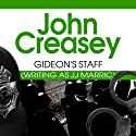 Gideon's Staff Audiobook by John Creasey Narrated by Hugh Kermode
