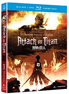 Attack on Titan, Part 1 (Blu-ray / DVD Combo) by Funimation