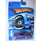 Hot Wheels Tail Dragger, Purple Car, Red Lines 5 Of 5, 2005 100; Malaysia Base