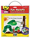 Colorforms Fun Pockets Eric Carle Very Hungry Caterpillar Travel Kit