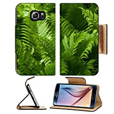buy Msd Samsung Galaxy S6 Flip Pu Leather Wallet Case Beautiful Green Ferns With Sunlight Hitting Them This Photo Has Been Given A Image 24354855 Luxur