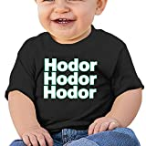 MayDay Hold The Hodor 6 To 24 Months Infant Custom Round Collar Tshirt Size12 Months