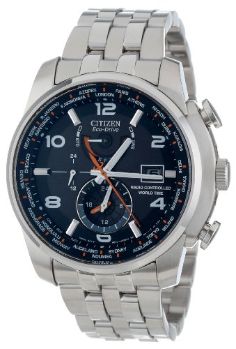 Citizen Men's AT9010-52E World Time A-T Eco-Drive 26 Time Zones Watch