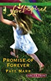 img - for Promise of Forever (Larger Print Love Inspired #350) book / textbook / text book