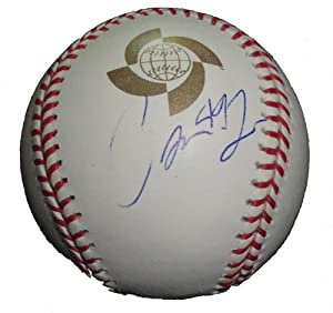 Carlos Marmol Autographed Signed 2009 World Baseball Classic Official Game Baseball,... by Southwestconnection-Memorabilia