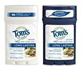 Toms of Maine Mens Long Lasting Deodorant, Mountain Spring, 2.25 Ounce (Pack of 2)