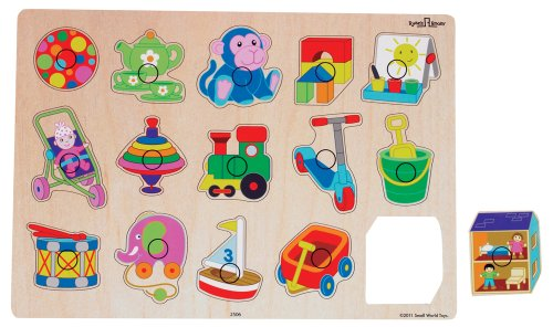 Small World Toys Ryan's Room Wooden Puzzle - Playboard