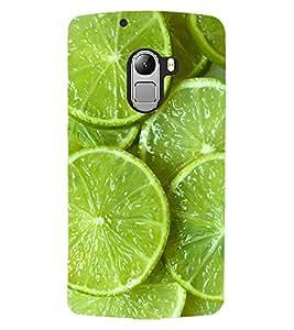 ColourCraft Lemons Design Back Case Cover for LENOVO VIBE X3 LITE