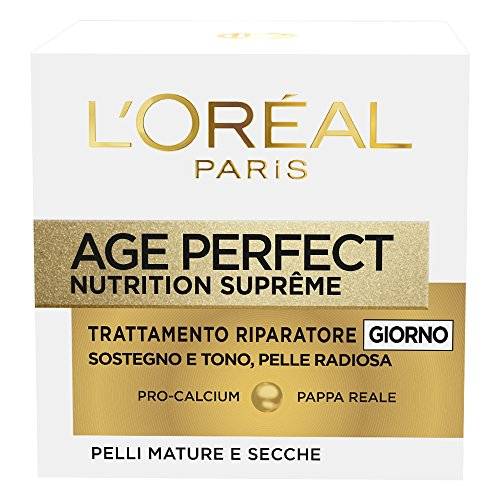 L'Oréal Paris Age Perfect Nutrition Supreme Crema Viso Riparatore Giorno, 50 ml