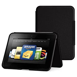 The Kindle Fire Standing Leather Case is flying off the shelves and