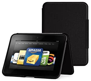 Amazon Kindle Fire HD 7&quot; Standing Leather Case Onyx Black Will Only Fit Kindle Fire HD 7&quot;