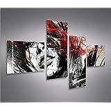 Bilder auf Leinwand Street Art 4L Kunstdruck XXL Bild Poster Leinwandbilder Wandbilder