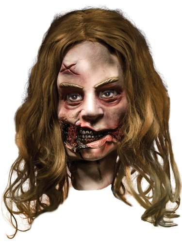 The Walking Dead Little Girl Latex Mask