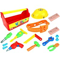 Ultimate Tool Case Pretend Play Childrens Toy Tool Play Set, Perfect For Your Little Builder