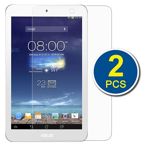 Birugear 2-Pack Premium Hd Crystal Clear Lcd Screen Protector For Asus Memo Pad 8 (Me180A) - 8'' Android Tablet