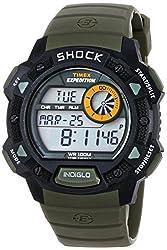 Timex Shock Digital Grey Dial Mens Watch - T49975