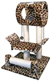 Go Pet Club F12 28-Inch Leopard Cat Tree Condo Furniture