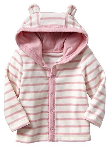 Gap Baby Stripe Velour Hoody Size 3-6 M front-909501