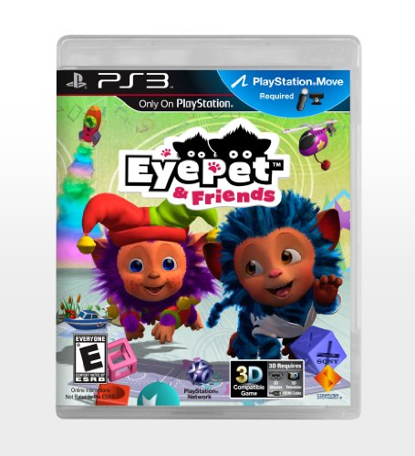 Eye Pet and Friends - Playstation 3 - 1