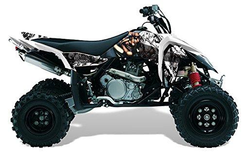 AMR Racing Suzuki LTR 450 2005-2011 ATV Quad Graphic Kit - Mad Hatter: Black,... (Ltr 450 Graphics compare prices)