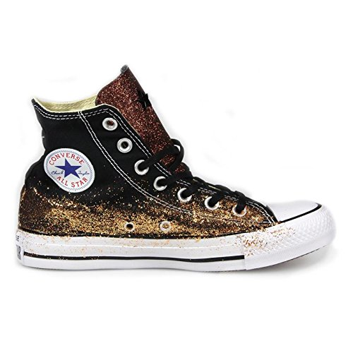 SNEAKER ALL STAR HI CANVAS LTD GLITTER CONVERSE Limited Ed., Nero, 38