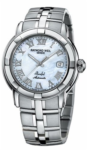 Raymond Weil Parsifal Mother Of Pearl Automatic Mens Watch 2841-ST-00908