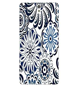 ColourCraft Lovely Pattern Design Back Case Cover for SONY XPERIA C5 ULTRA