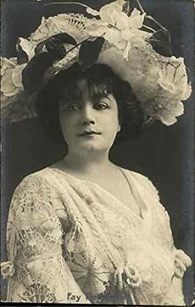 Fay Templeton Actresses Original Vintage Postcard at Amazon's