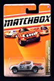 MITSUBISHI L200 / TRITON * SILVER * Outdoor Sportsman Series (#4 of 10) MATCHBOX 2010 Basic Die-Cast Vehicle (#77 of 100)