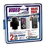 Zenex MP5556-2 2 GB MP4 Video Player, Black