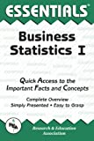 Business Statistics I Essentials (Essentials Study Guides) (0878918418) by Clark, Louise