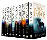Dick Francis Dick Francis Collection 10 Books Set Champion Storyteller RRP £69.90 (Blood Sport, Bonecrack, Dead Heat, Enquiry, Field of 13, For Kicks , Rat Race, Reflex, The Danger, Under Orders)