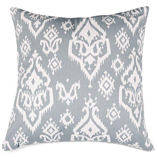 Majestic Home Goods Raja Pillow, X-Large, Gray