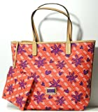 Guess SP343723 Coral Multi Tote Handbag Plus Matching Wallet