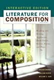 Literature for Composition, Interactive Edition (8th Edition) (020556383X) by Barnet, Sylvan