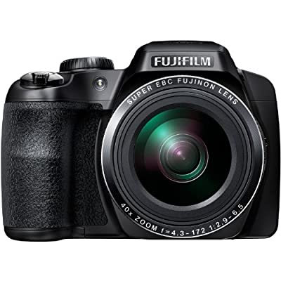 Fujifilm FinePix S8200 16.2MP Digital Camera with 3-Inch LCD (Black)
