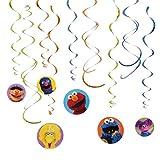 SesameStreetHangingSwirlValuePack渦巻バリューパックを吊るすセサミストリート♪ハロウィン♪クリスマス♪
