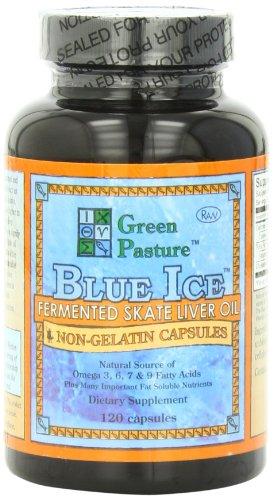 Blue Ice Fermented Skate Liver Oil 120 Caps