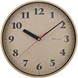 Felio(フェリオ) 壁掛け時計 アスナロ ステップ秒針 ナチュラル FEW173N