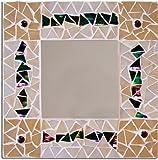 Jennifer's Mosaics Stained Glass Mosaic Mirror Kit