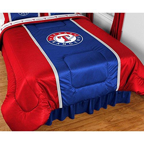 Texas Rangers Mlb Twin Comforter, Sheets & Sham (5 Piece Bedding) front-840373