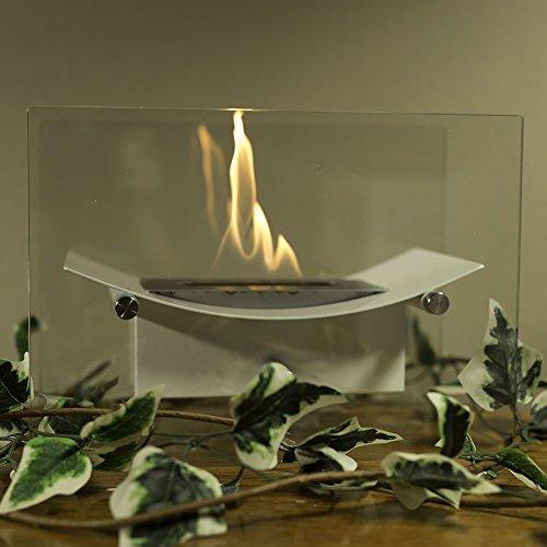 Sunnydaze Bloodless Zen Ventless Tabletop Bio Ethanol Fireplace