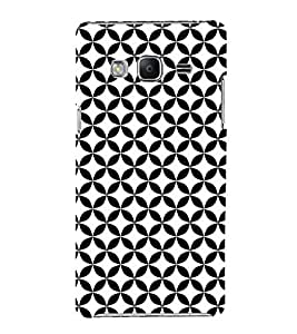 Black American Cute Fashion 3D Hard Polycarbonate Designer Back Case Cover for Samsung Galaxy Z3 Tizen :: Samsung Z3 Corporate Edition