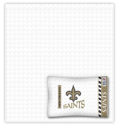 Cheap Nfl New Orleans Saints 5 Pc Bed In A Bag Queen