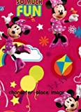 Disney Minnie Mouse Gift Wrap 2 Sheets & 2 Tags Ideal Wrapping Kids Presents